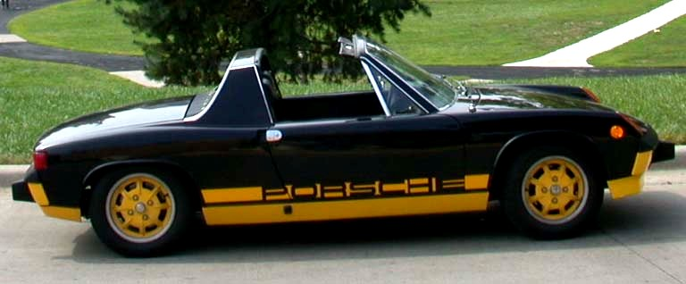 The 1974 Porsche 914 Limited Edition