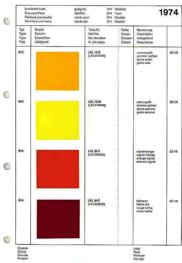 Exterior Color Sticker Pelican Parts Technical Bbs